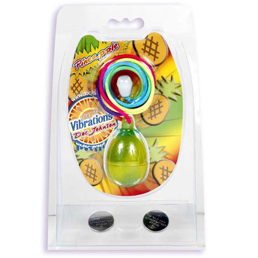 Tropical Vibrations Pineapple Waterproof Mini Vibe 1.25 In. - View #1
