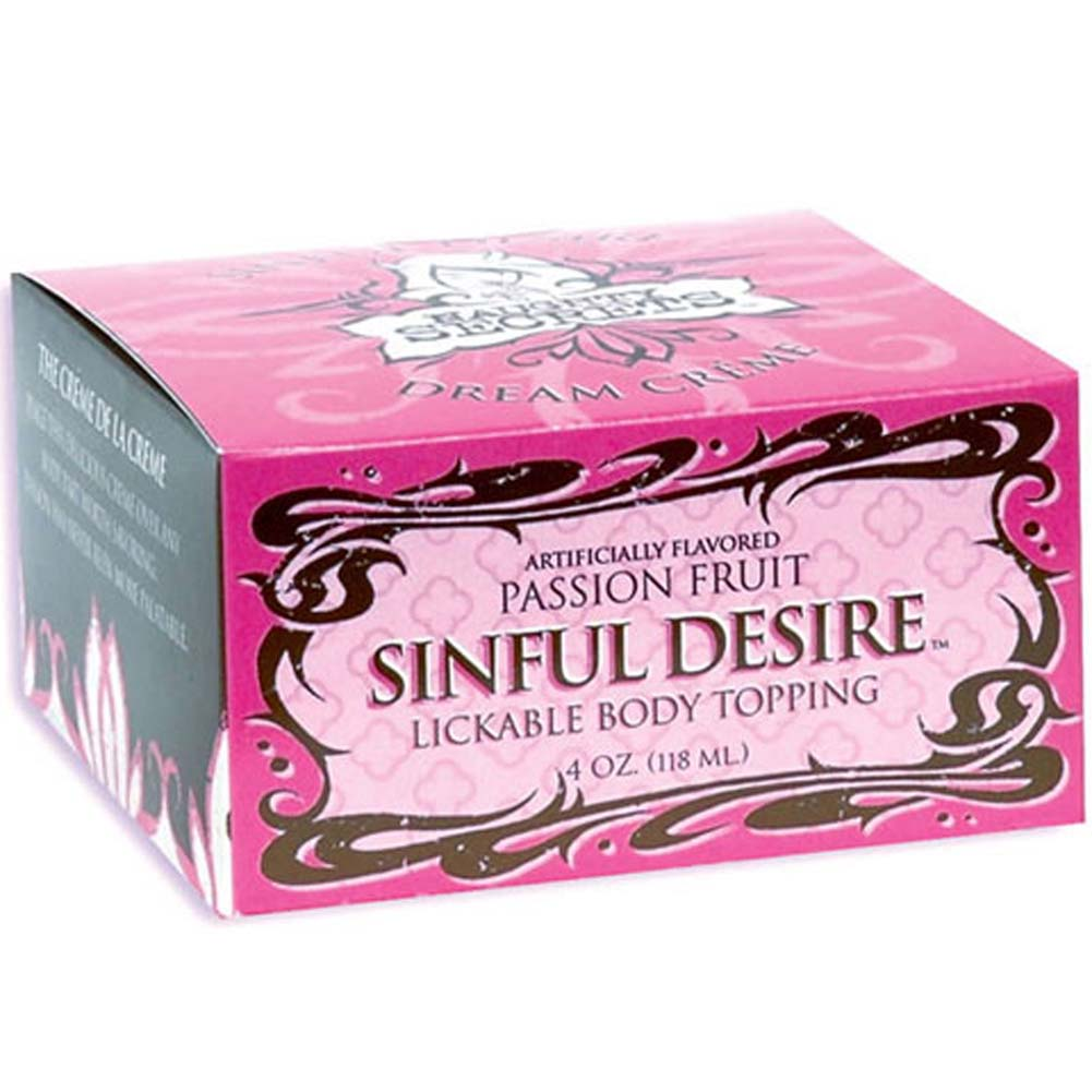 Naughty Secrets Sinful Desire Dream Cream Passion Fruit 4 Oz - View #1