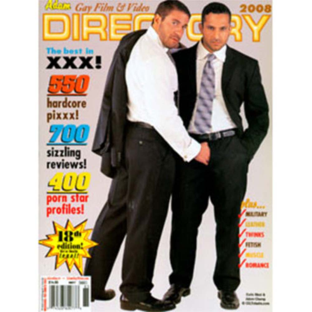 2008 Adam Gay Film and Video Directory - View #1