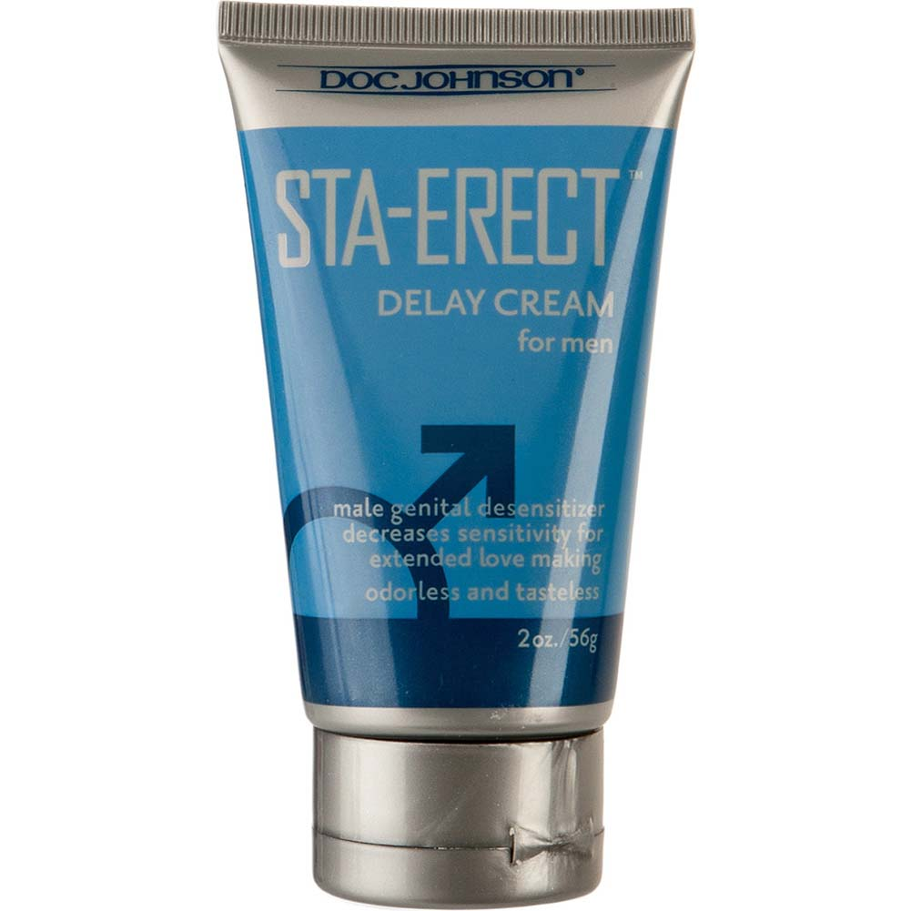 Doc Johnson Sta Erect Delay Cream for Men 2 Ounce 56 G Boxed - View #2