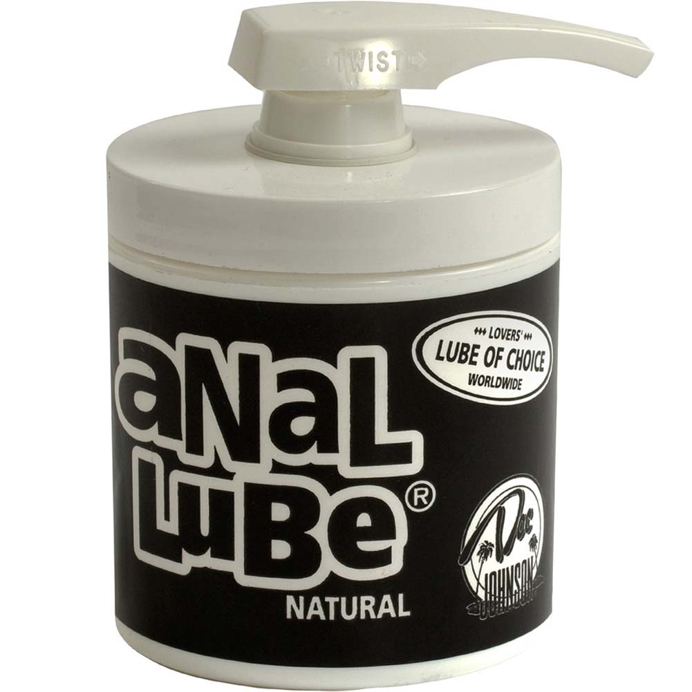Doc Johnson Anal Lube 4.75 Oz Natural Unscented - View #1