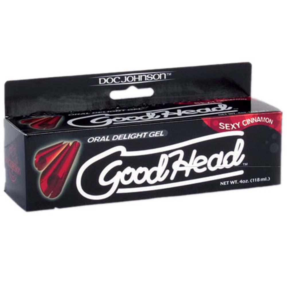 GoodHead Oral Delight Gel for Lovers 4 Ounce 113 G Sexy Cinnamon - View #1