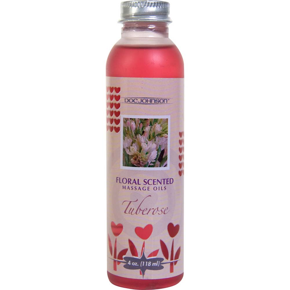 Floral Scented Massage Oil 4 Fl.Oz Tuberose - View #2