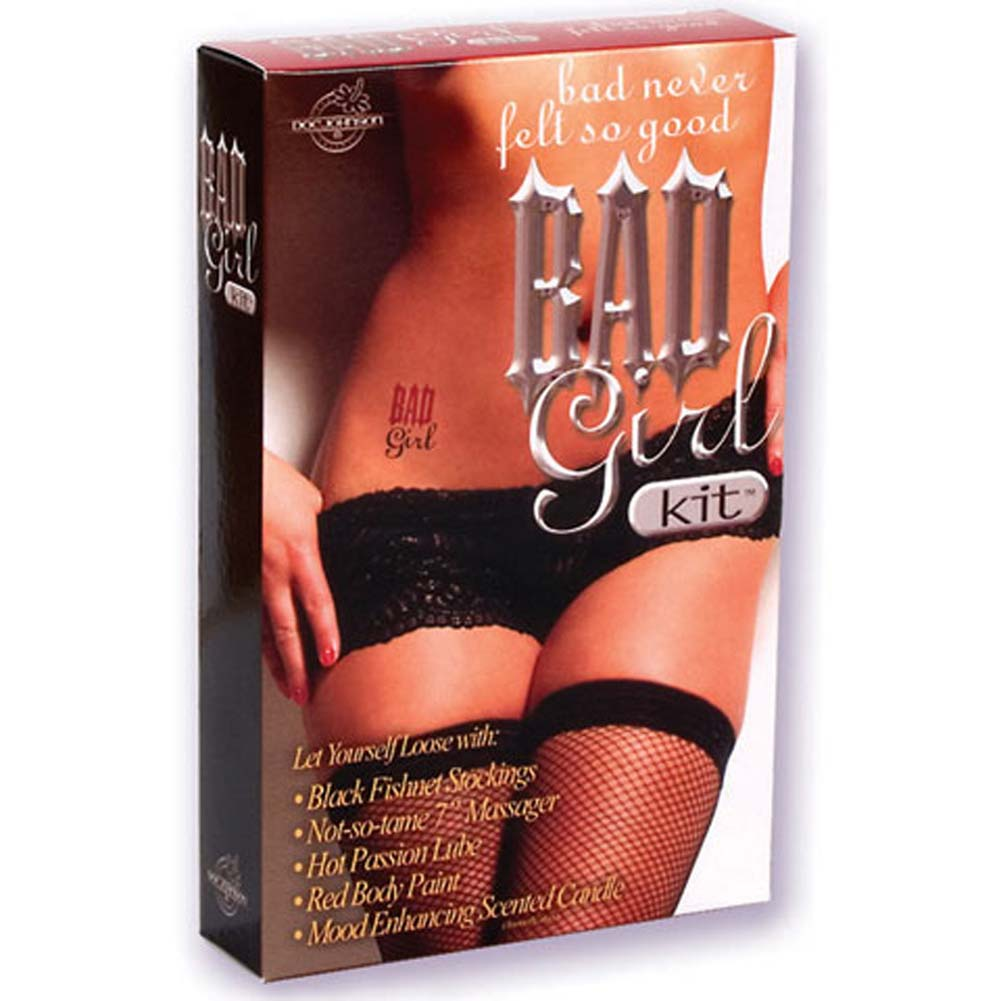Bad Girl Kit with Vibe 7 In. - View #1