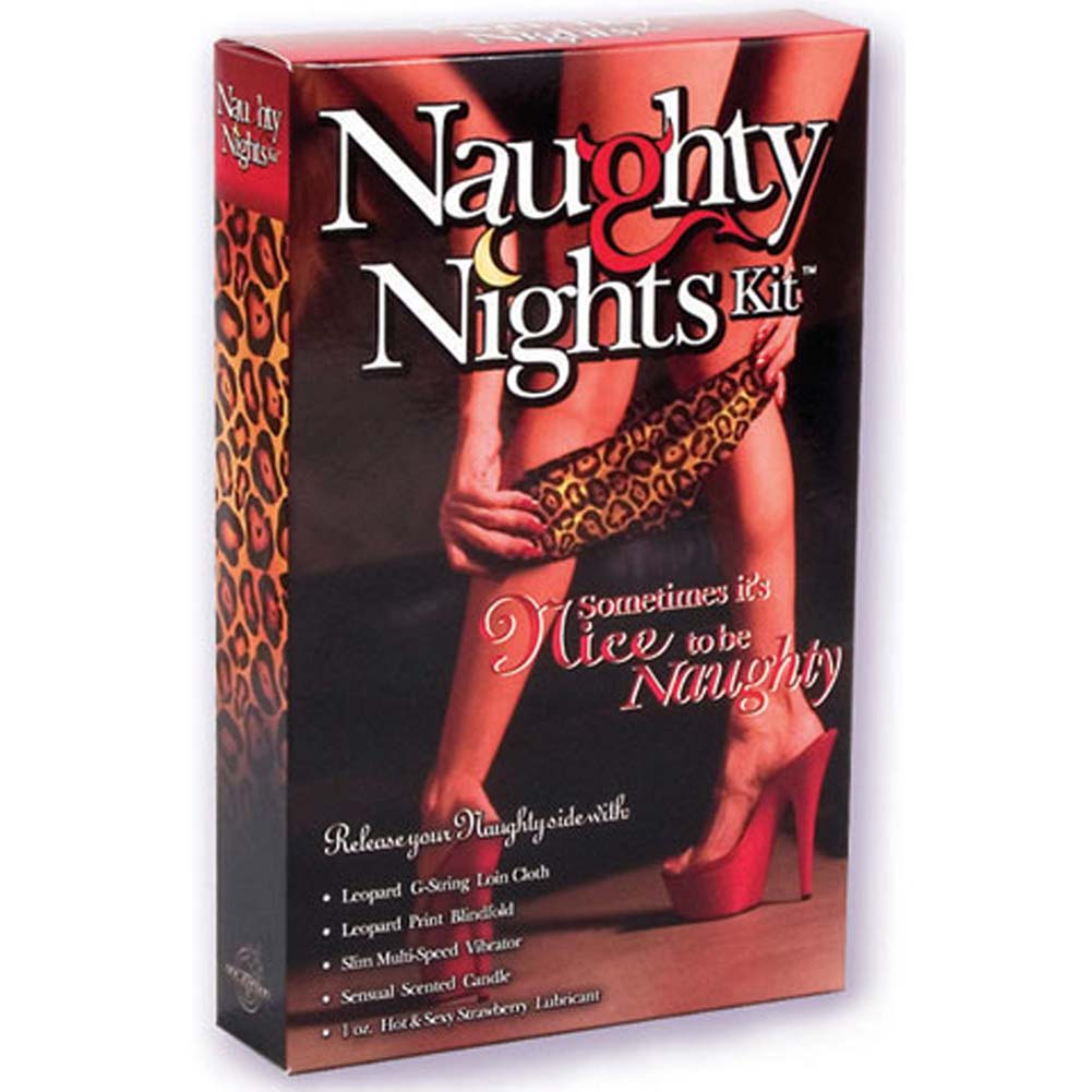 "Naughty Nights Kit with 6"" Vibrator - View #1"