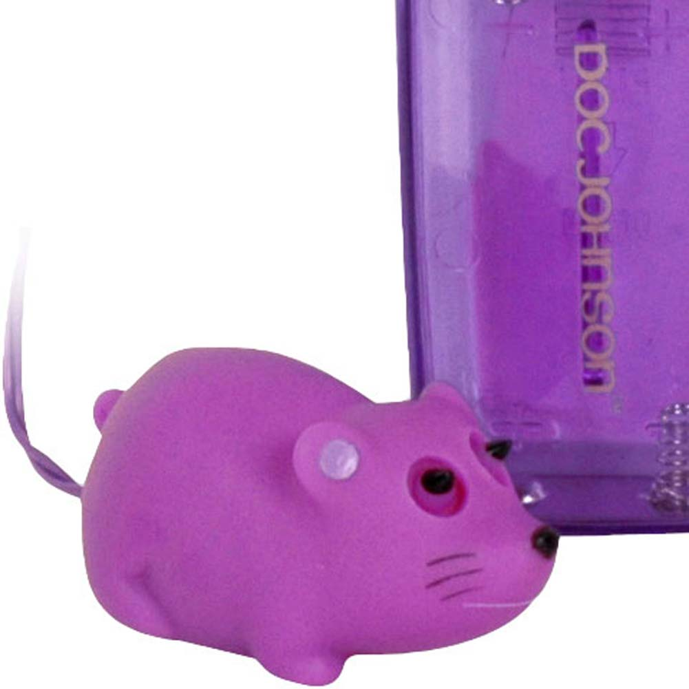 "Mini Mini Mouse Vibrating Bullet 1.75"" Purple - View #2"