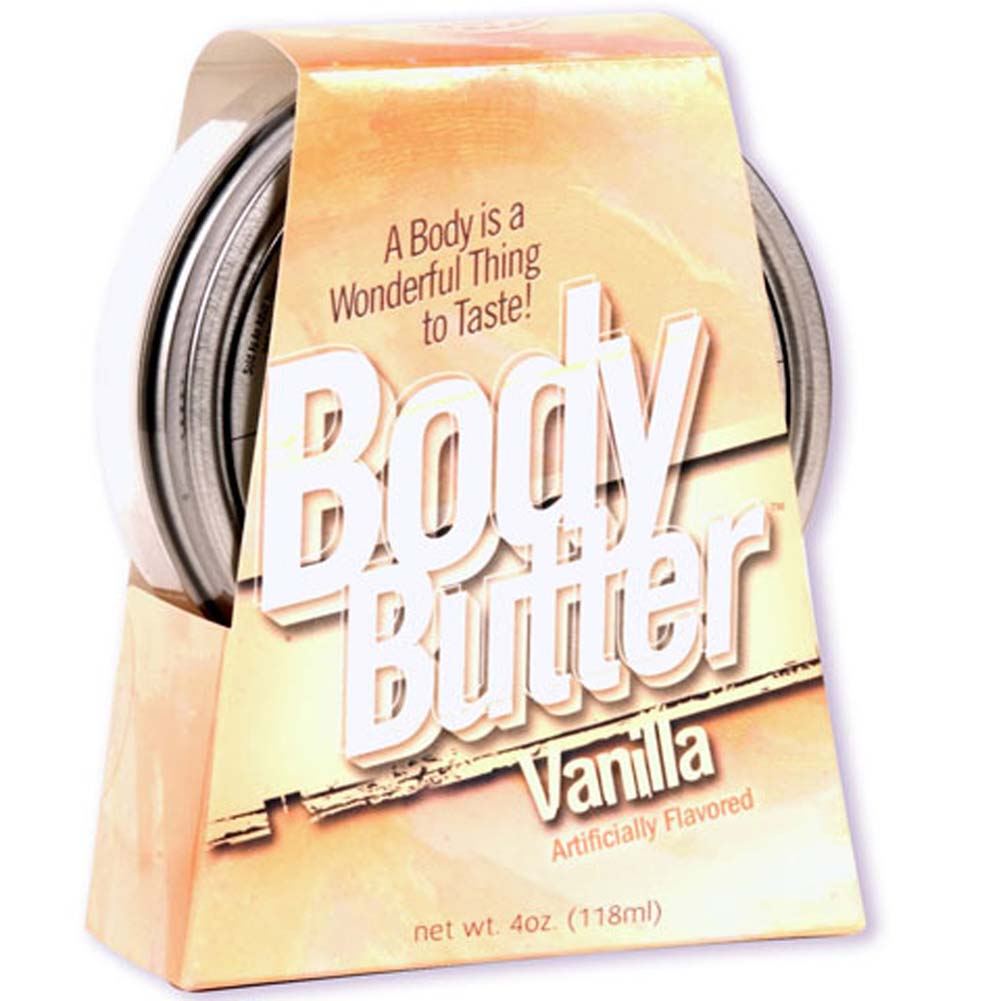 Body Butter Vanilla 4 Fl. Oz. - View #1