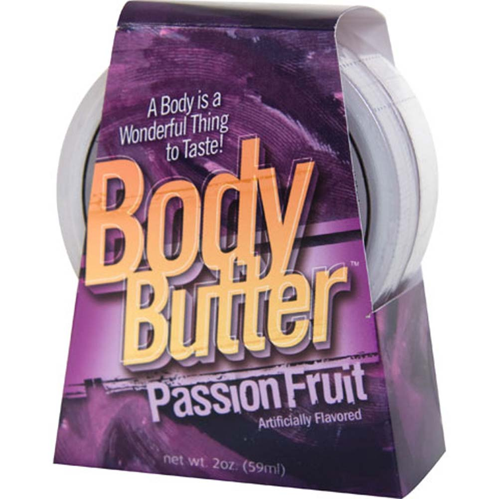 Body Butter Passion Fruit 2 Fl. Oz. - View #1
