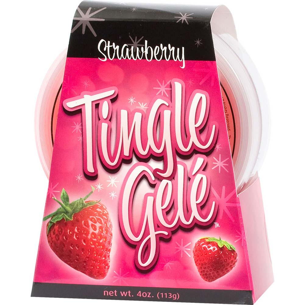 Tingle Gele Edible Sensual Lube 4 Fl. Oz Strawberry - View #3