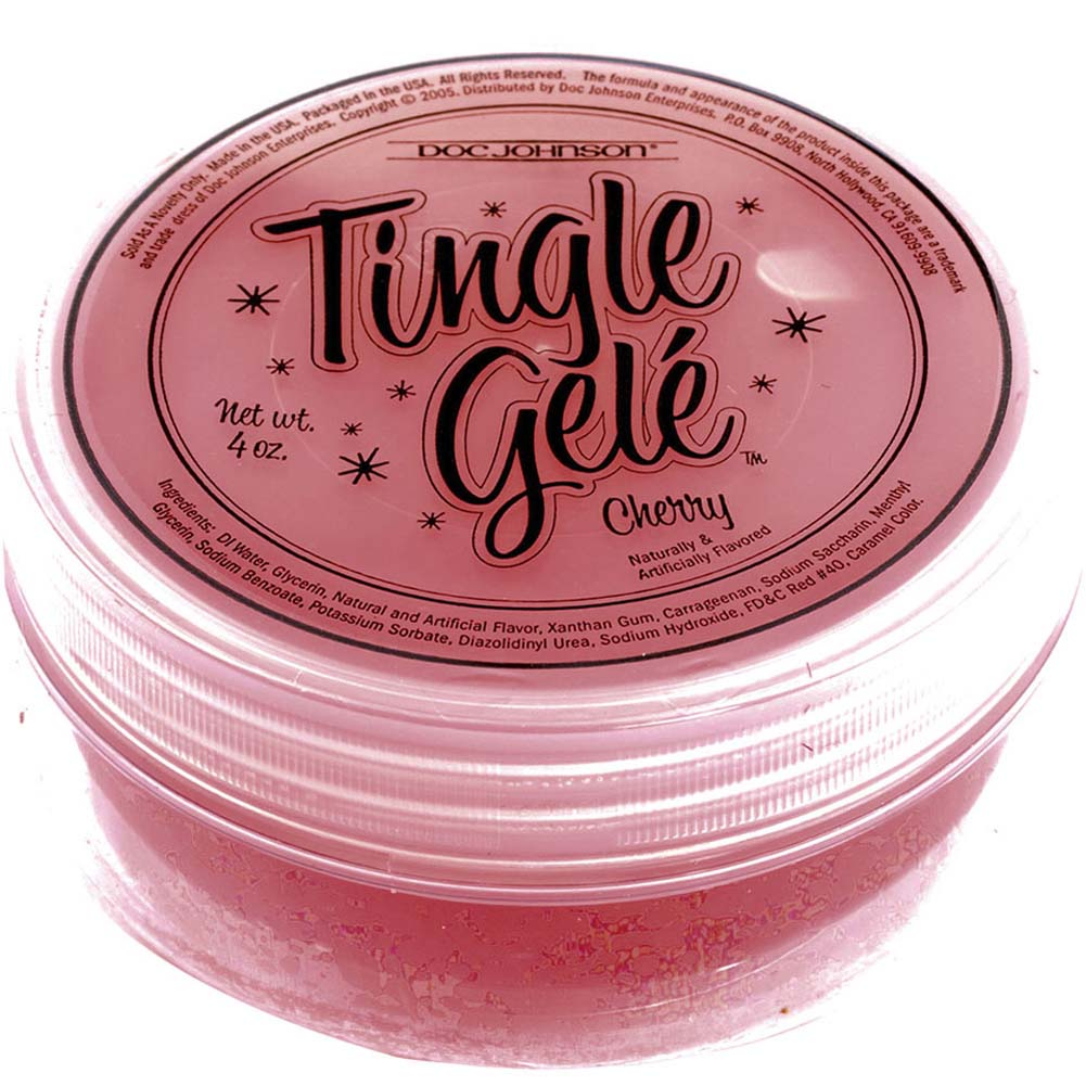 Tingle Gele Cherry 4 Fl. Oz - View #2