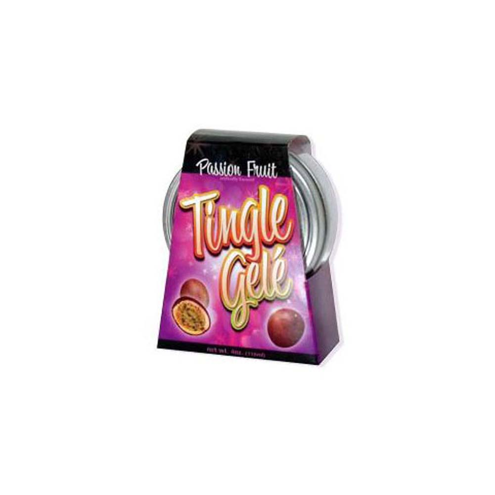 Tingle Gele Passion Fruit 4 Oz. - View #1