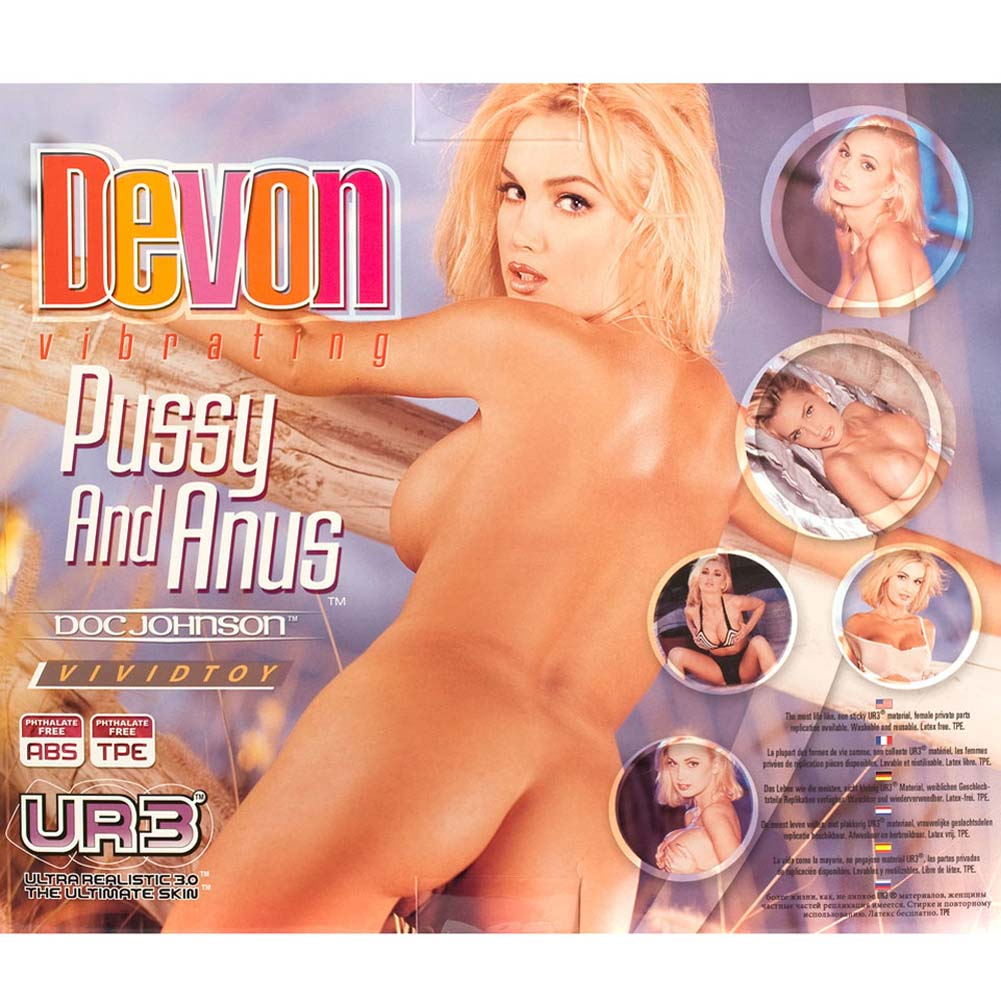Devon UR3 Vibrating Pussy and Anus Natural - View #3