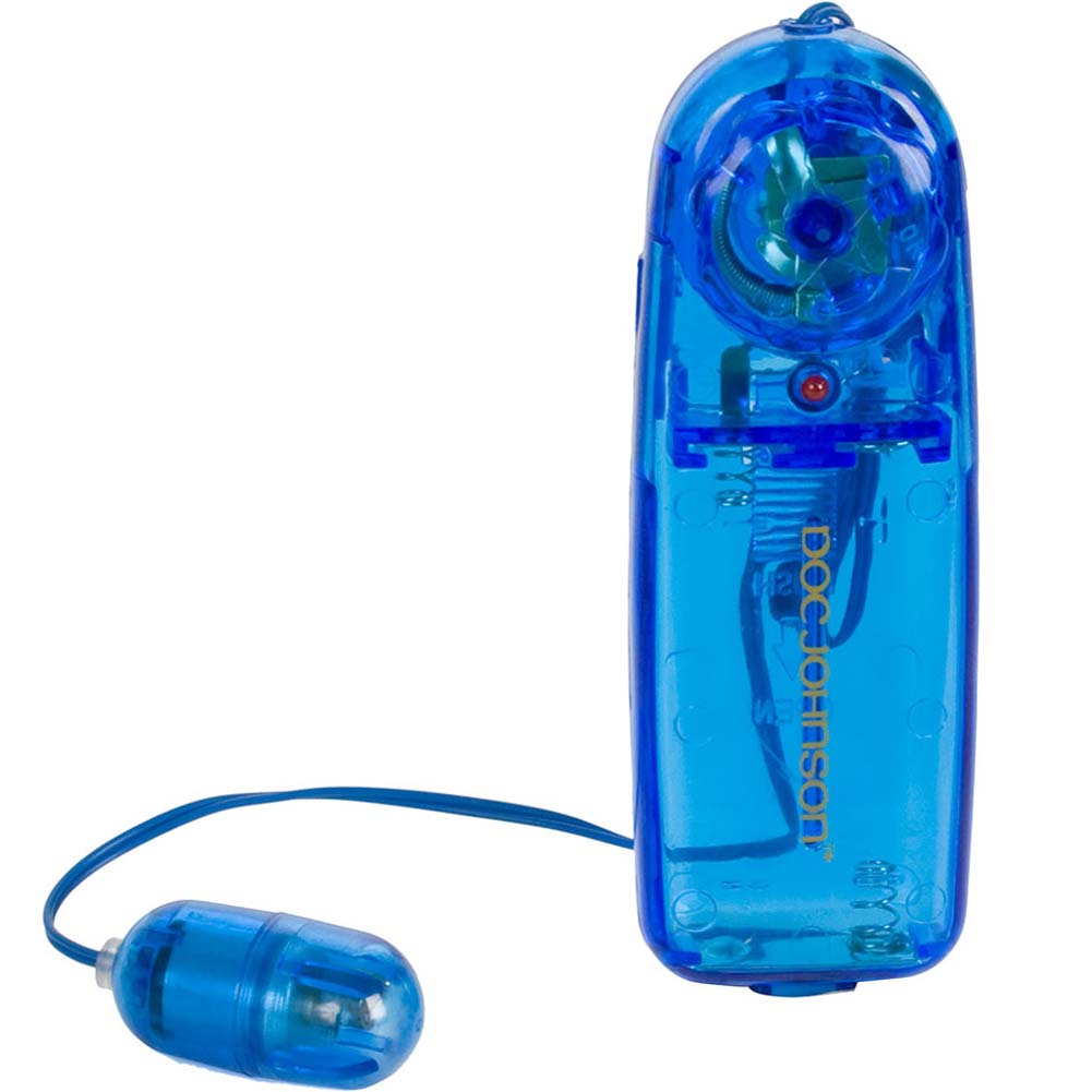 "Vivid Mini Bullet Vibrator by Briana 1.5"" Blue - View #2"