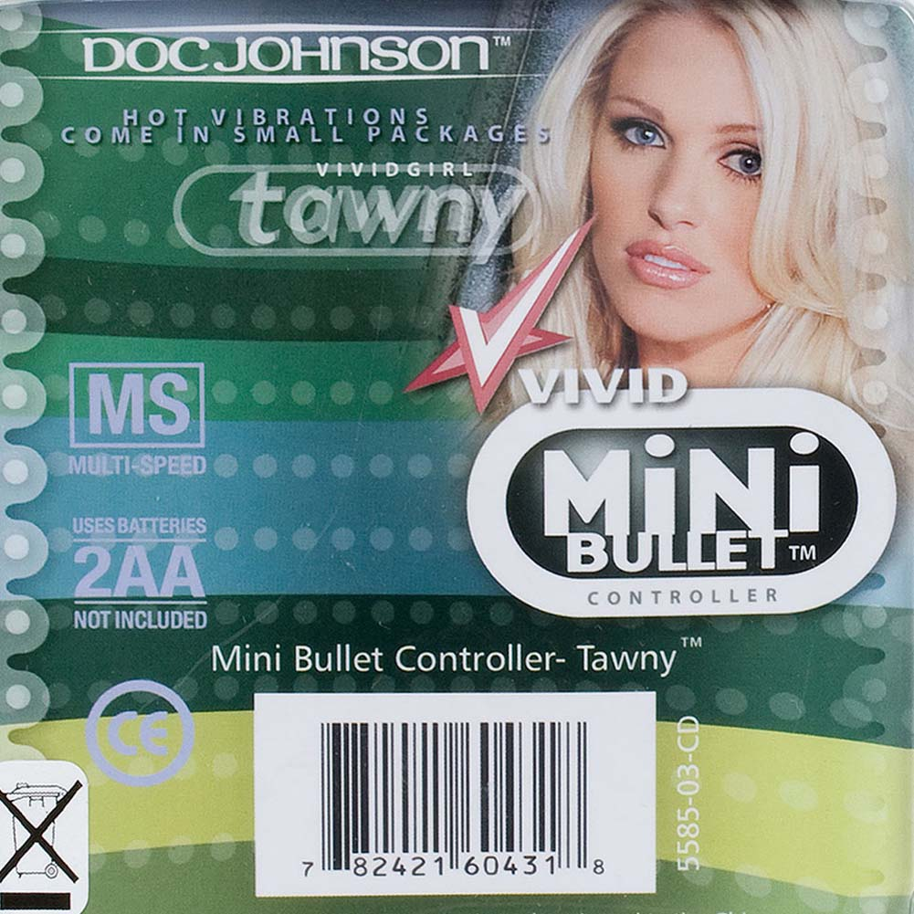 "Vivid Mini Bullet Vibrator by Tawny 1.5"" Red - View #3"