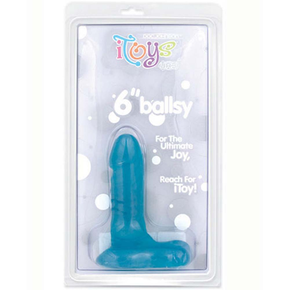 "iToys 6"" UR3 Ballsy Dong Blueberry - View #1"