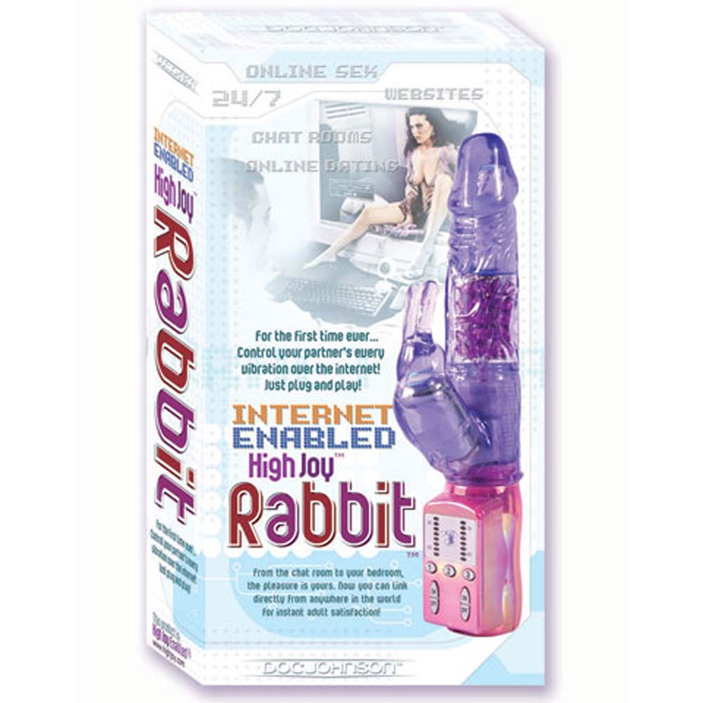 Internet Enabled High Joy Rabbit Vibe 5.5 In. - View #1