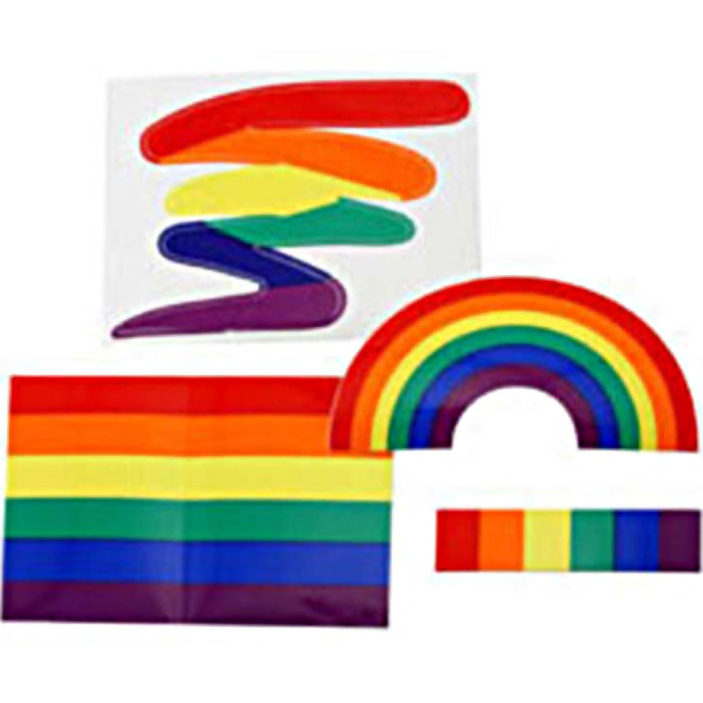 Gaysentials Sticker Pack A - View #1