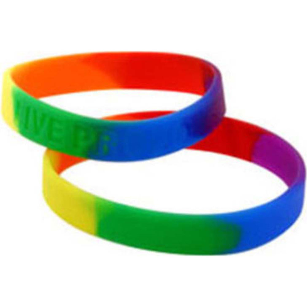 Gaysential Silicone Wristbands - View #2