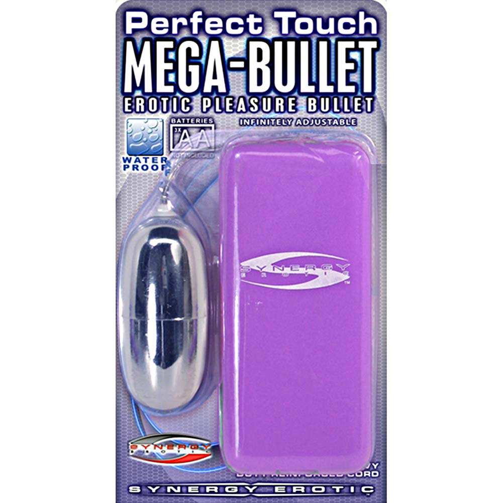 "Synergy Perfect Touch Mega Bullet Vibrator 2.5"" Lavender - View #3"