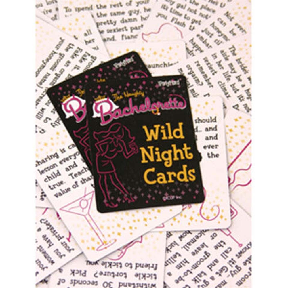 Naughty Bachelorette Wild Night Cards - View #1