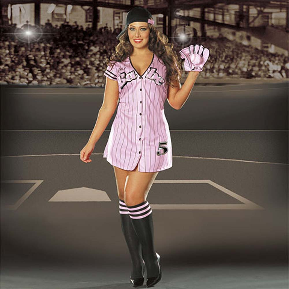 The Babe Costume Plus Size 3X/4X - View #1
