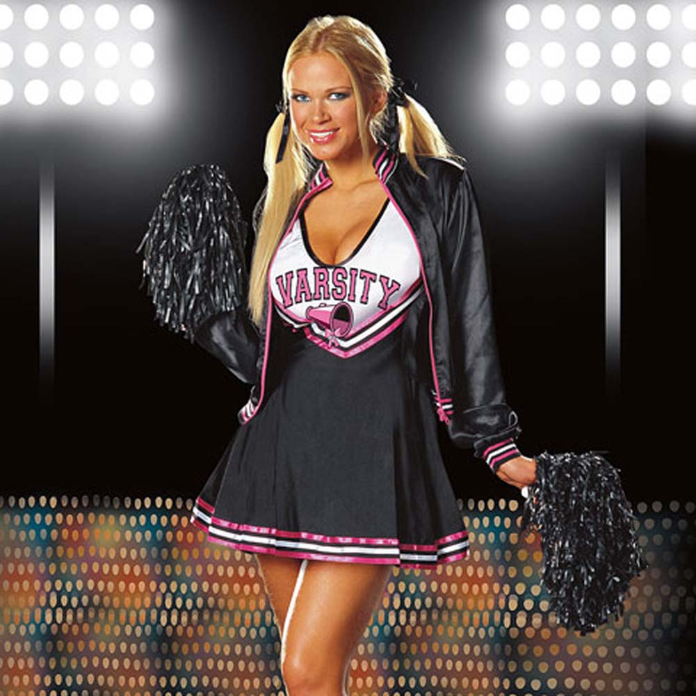 Varsity Cheerleader Costume Medium Size - View #1