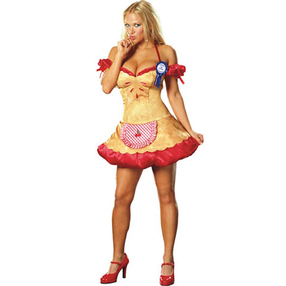 Hot Cherry Pie Costume Medium Size - View #3