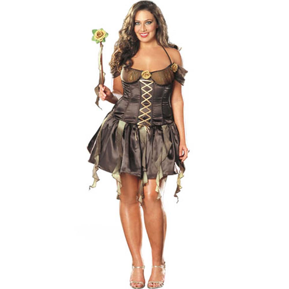 Forrest Nymph Costume Plus Size 3X/4X - View #2