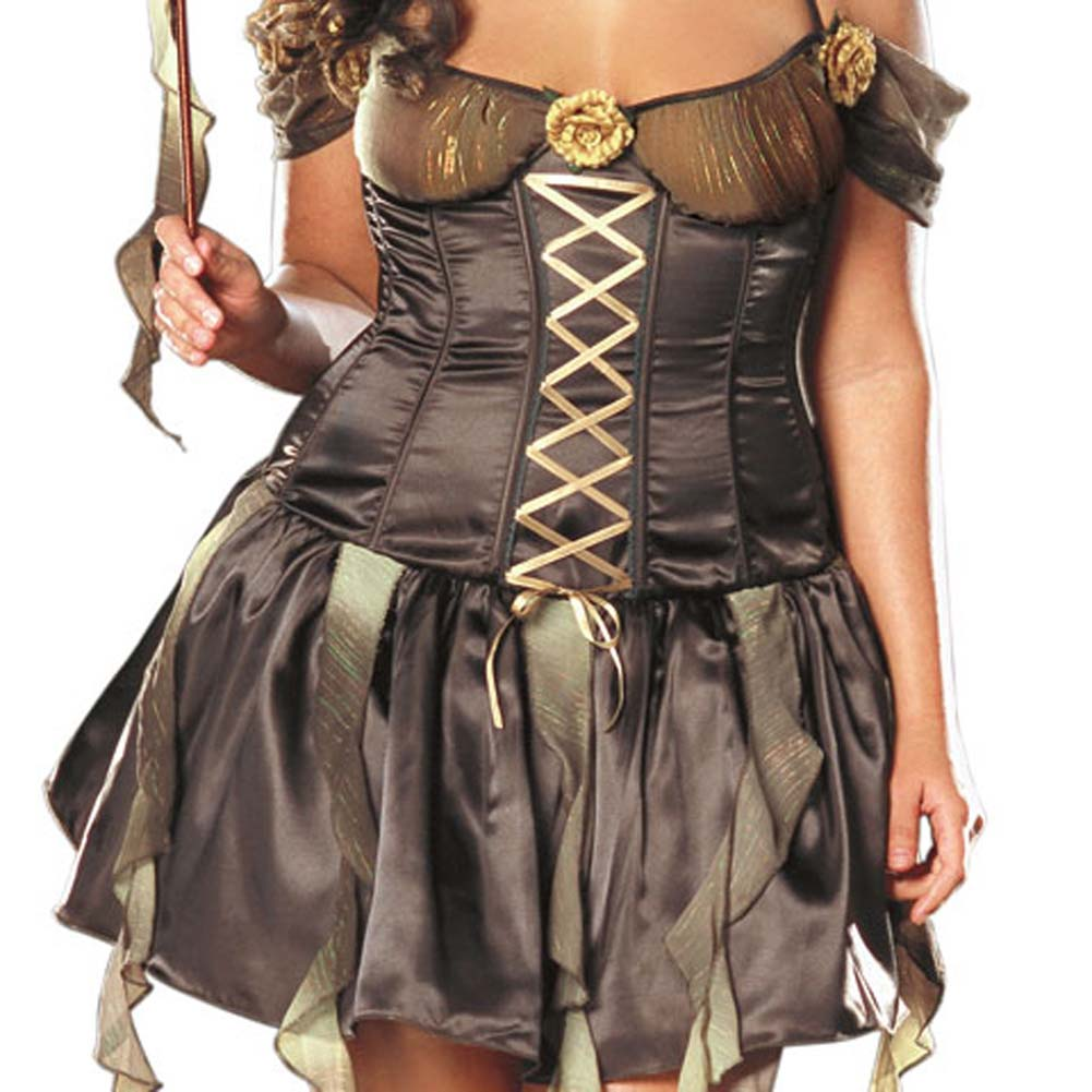 Forrest Nymph Costume Plus Size 3X/4X - View #4