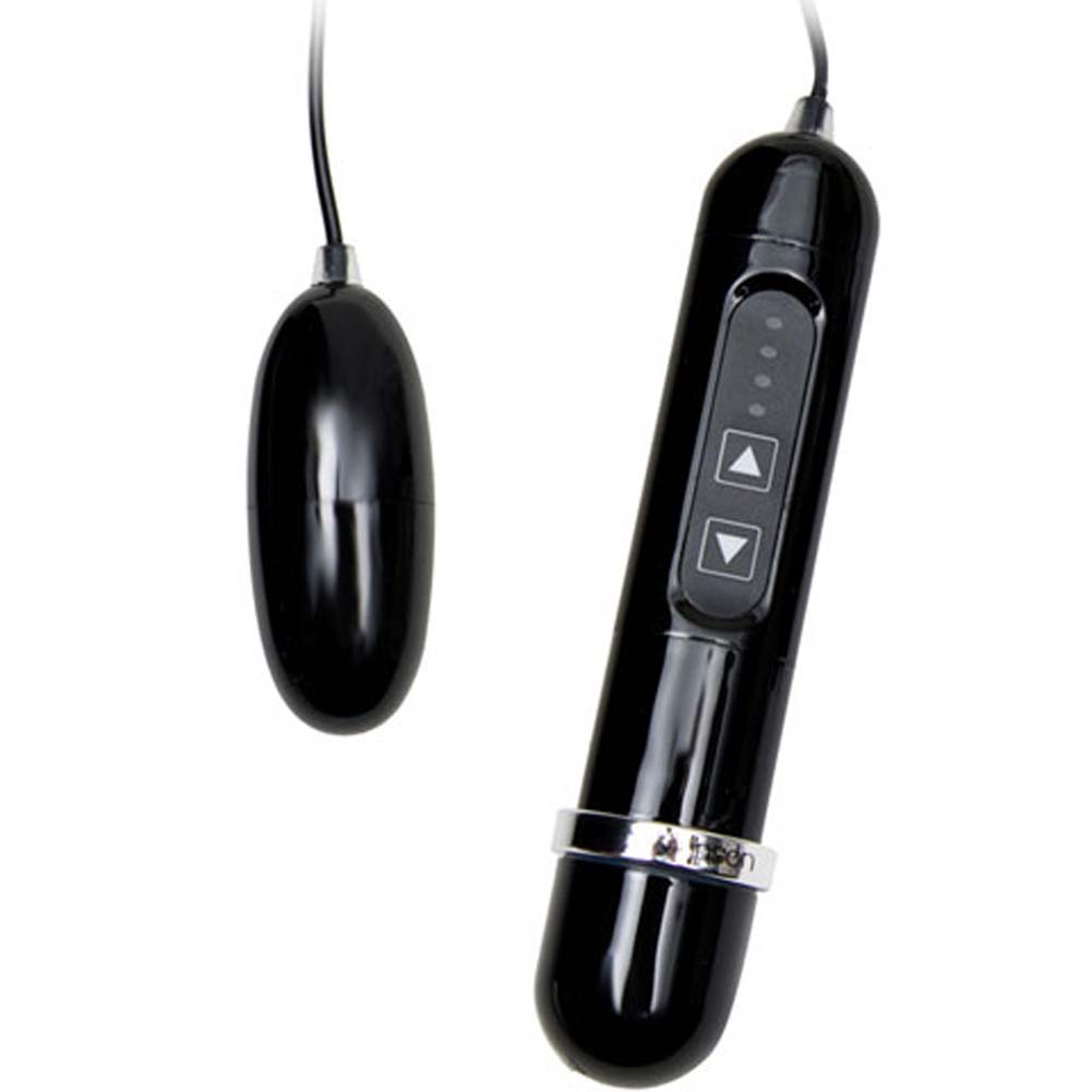 Harmony Balanced Waterproof Vibrating Bullets Black - View #3