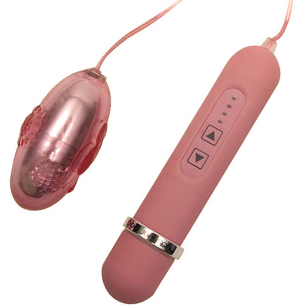 Love Bug Butterfly Waterproof Vibrating Bullet Lavender - View #1
