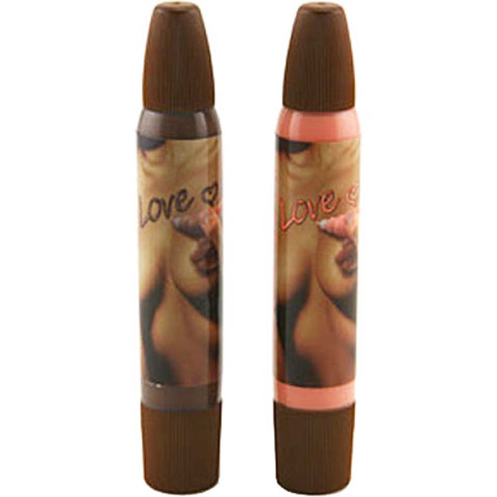 Lovers Body Pen Set 2 Pack Chocolate and Strawberry - View #1