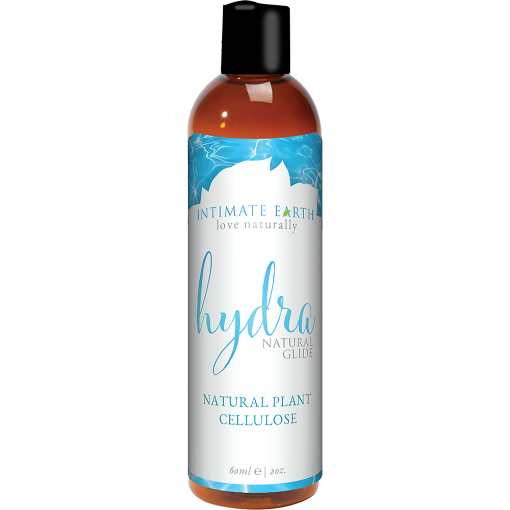 Intimate Earth Hydra Plant Cellulose Water-Based Lubricant 4 Fl.Oz 120 mL - View #1