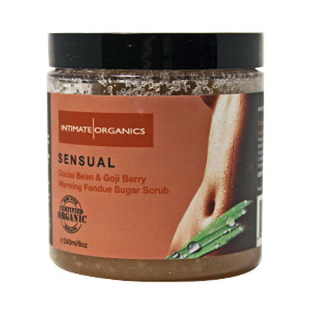 Intimate Organics Body Scrub Sensual Cocoa Bean and Gogi - View #1