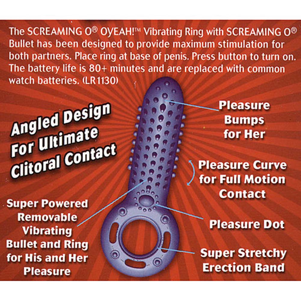 Super Powered Vertical Vibrating Waterproof Cockring - View #2