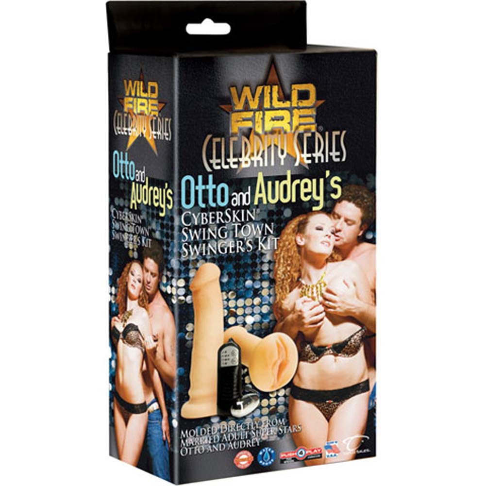 Otto and Audreys CyberSkin Swing Town Vibrating Kit RbDV - View #4