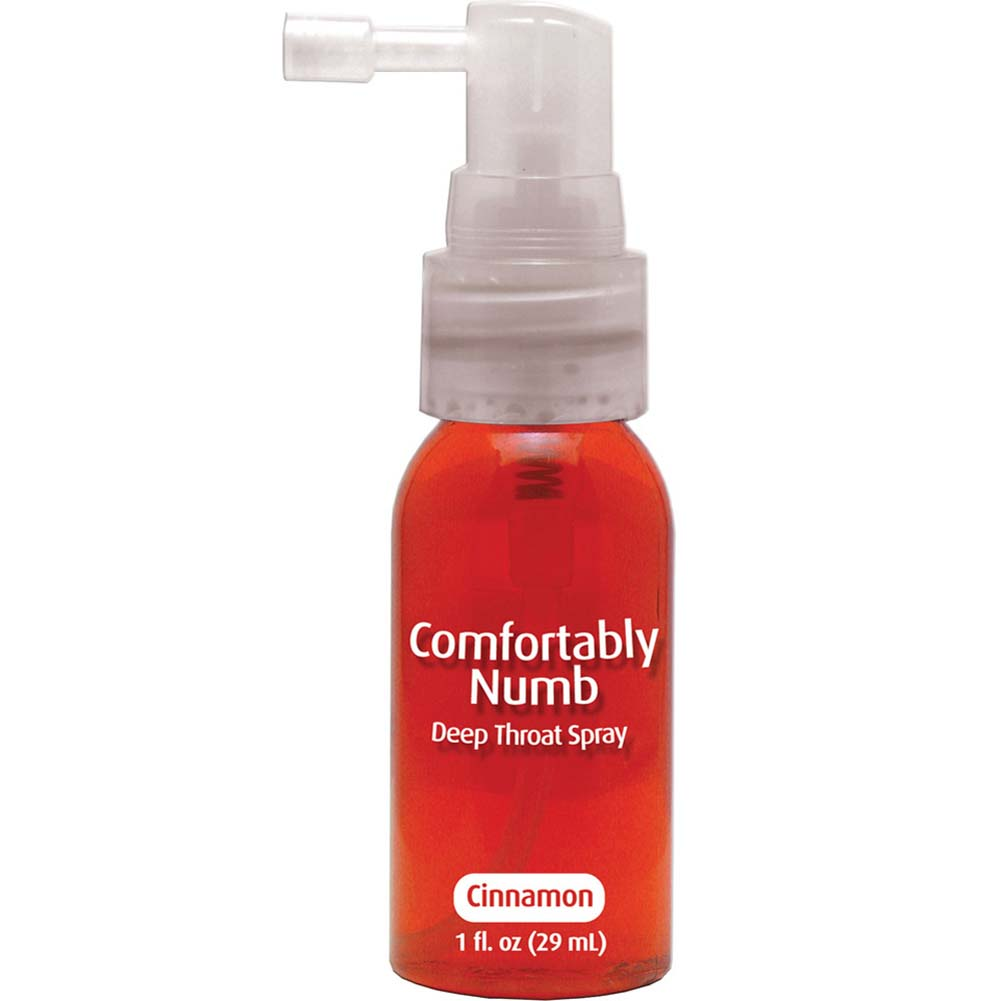 Comfortably Numb Deep Throat Spray 1 Fl.Oz 29 mL Cinnamon - View #2