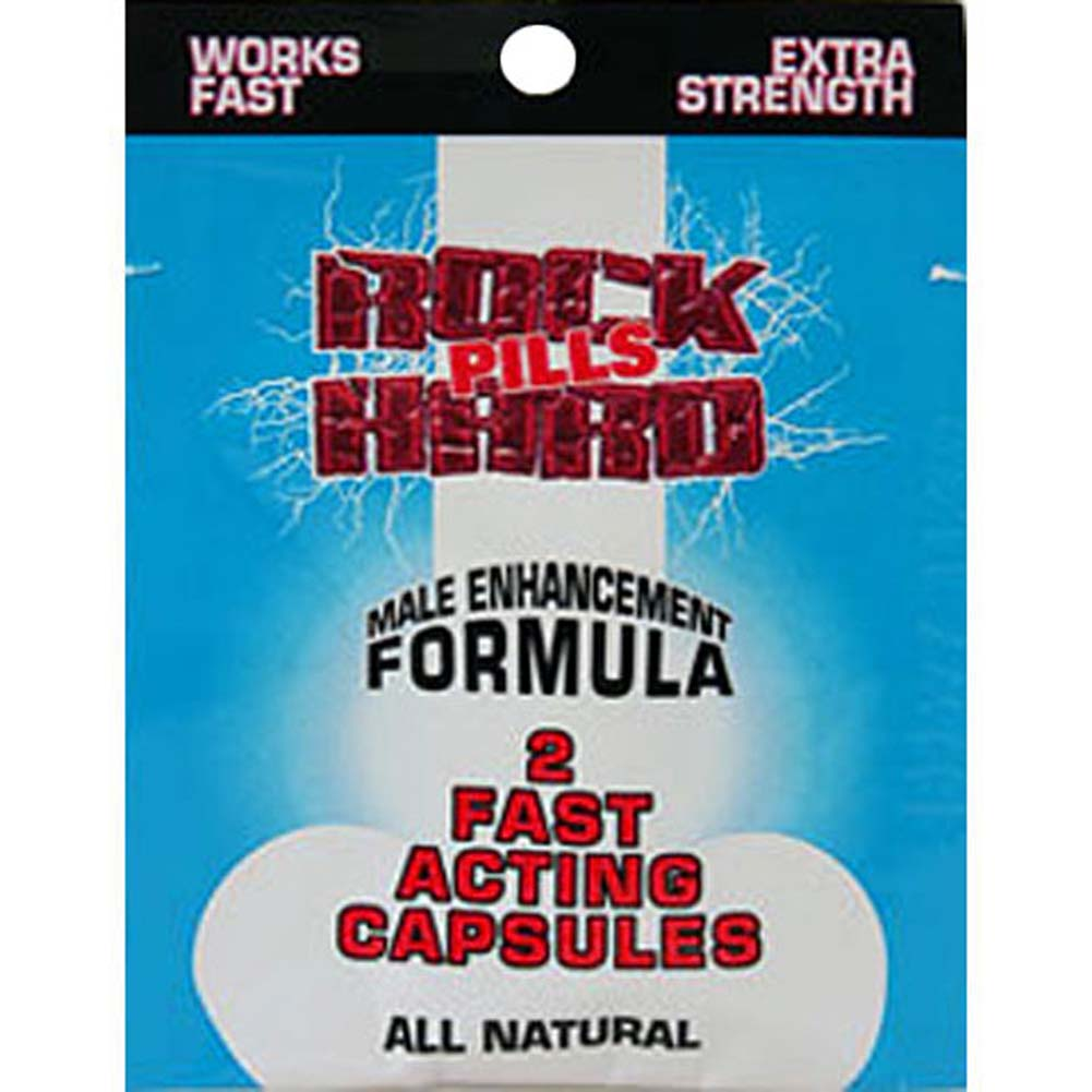 Rock Hard Pills Male Enhancement Formula 2 Count - View #1