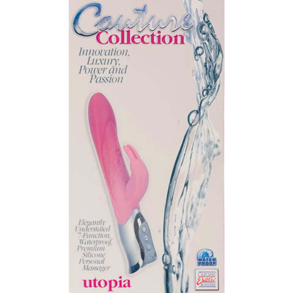 "Couture Collection Utopia Waterproof Silicone Vibe 10.5"" - View #2"