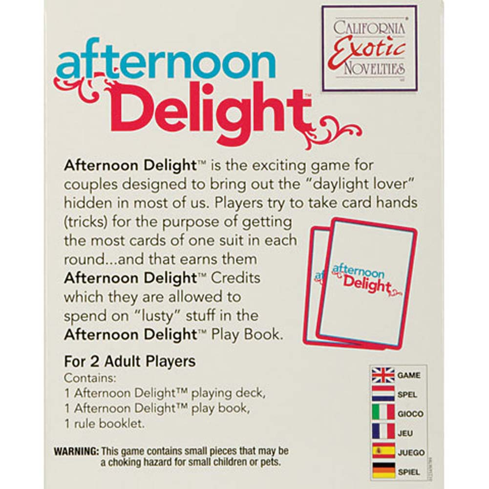 Afternoon Delight Game - View #3