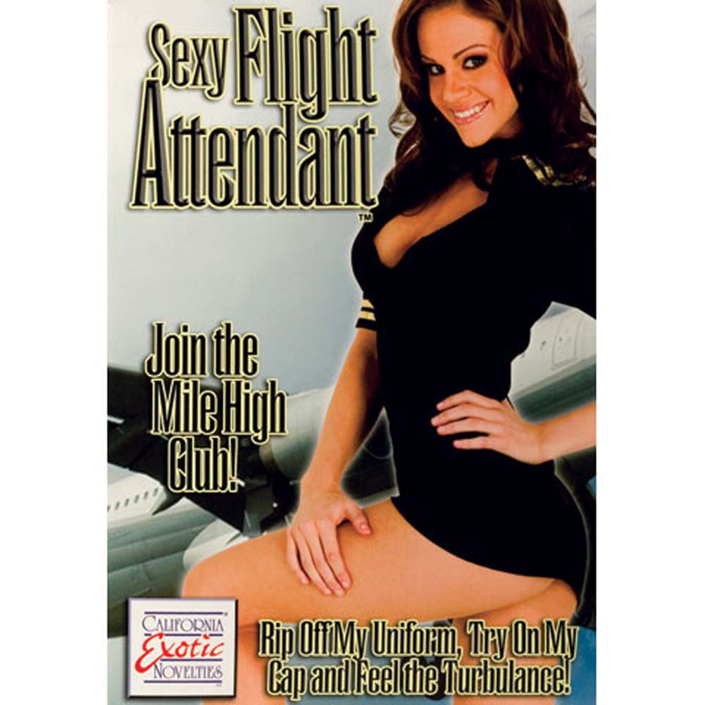 California Exotics Sexy Flight Attendant Inflatable Doll - View #1