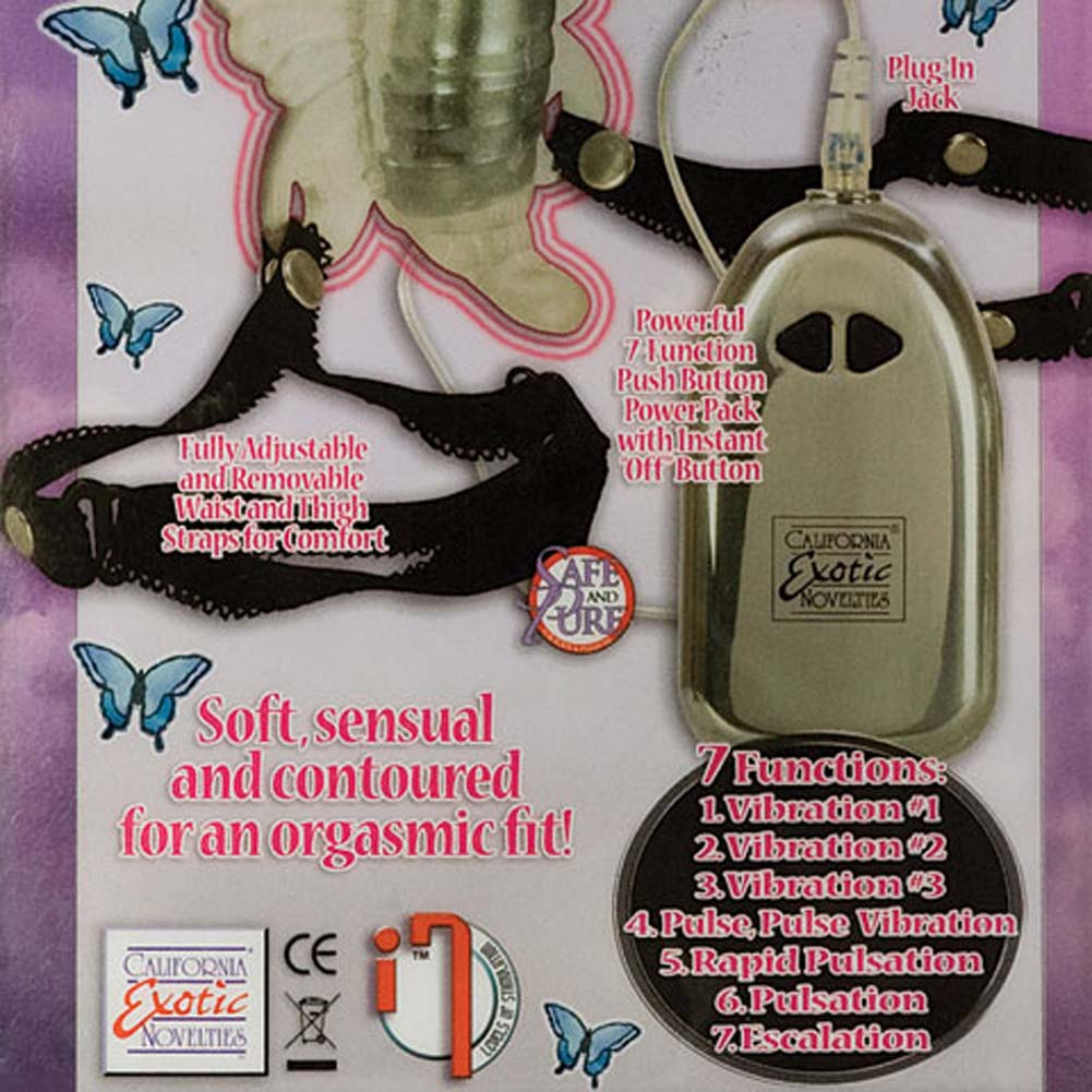 7 Function Venus Strap-On Vibrating Butterfly - View #3