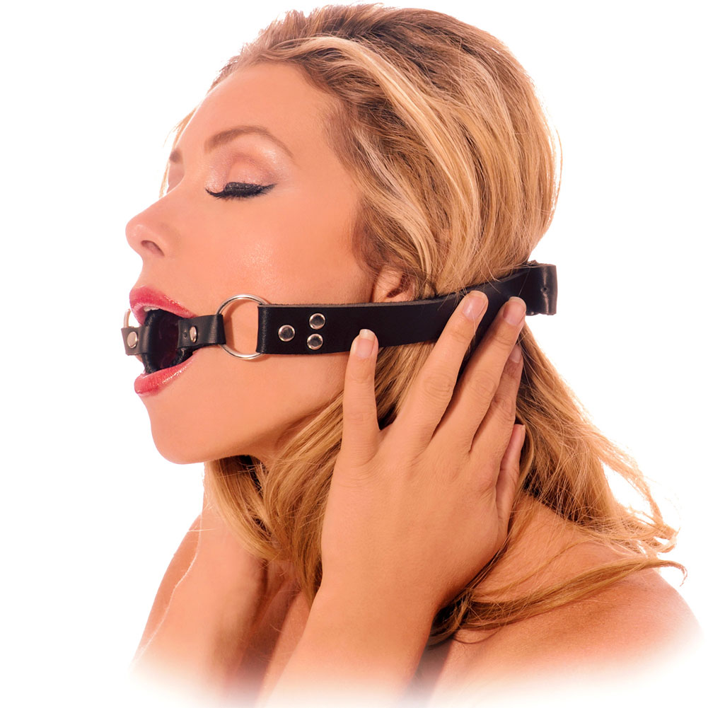Fetish Fantasy Series Open Mouth Gag Black - View #3