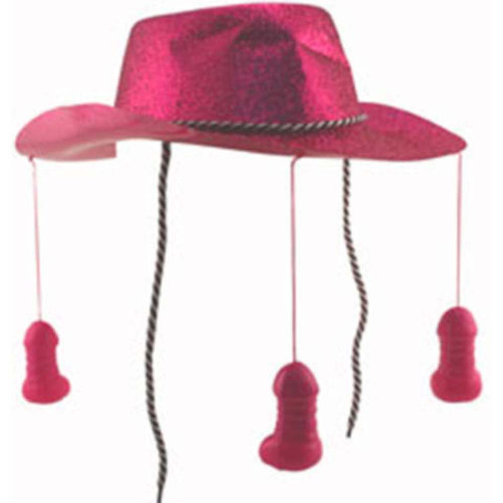 Bachelorette Party Favors Pecker Cowboy Hat - View #1
