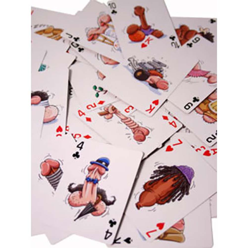 Pecker Playing Cards by Ozze Creations - View #1