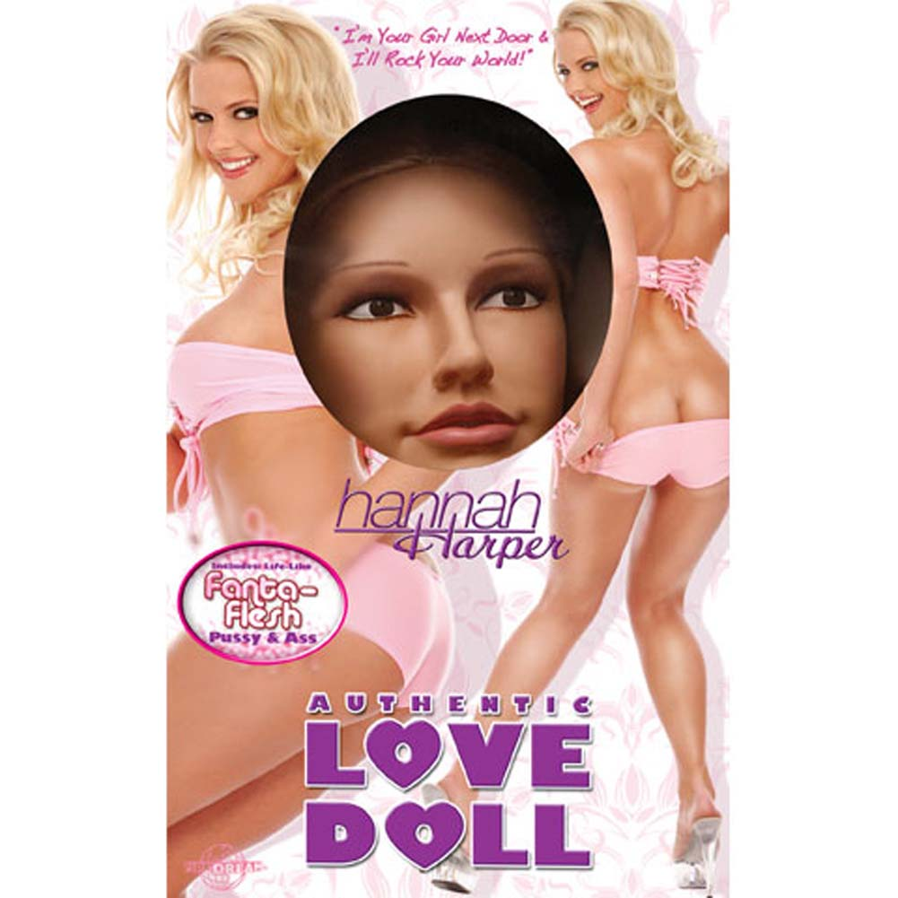 Hannah Harper Vibrating Authentic Love Doll - View #1