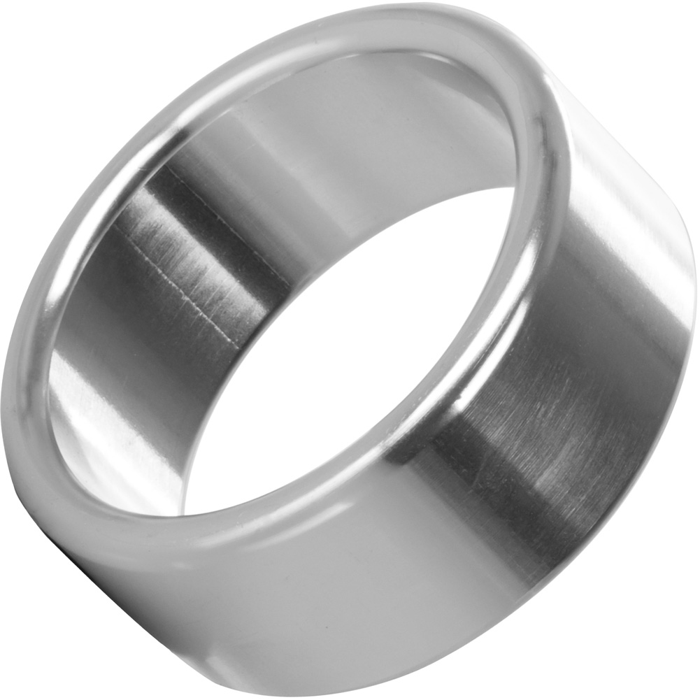 "CalExotics Alloy Metallic Penis Enhancement Ring Medium 1.5"" - View #2"