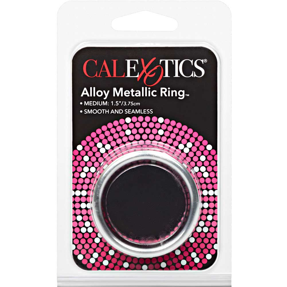 "CalExotics Alloy Metallic Penis Enhancement Ring Medium 1.5"" - View #4"