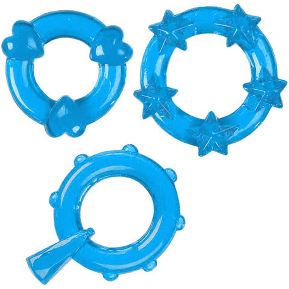 CalExotics Magic C-Ring Set Blue - View #2