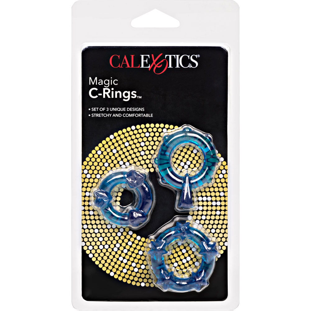CalExotics Magic C-Ring Set Blue - View #4